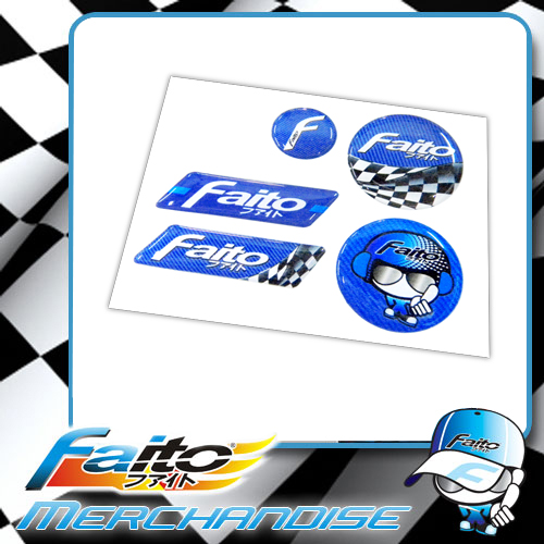 Faito PU Sticker (5 IN 1)