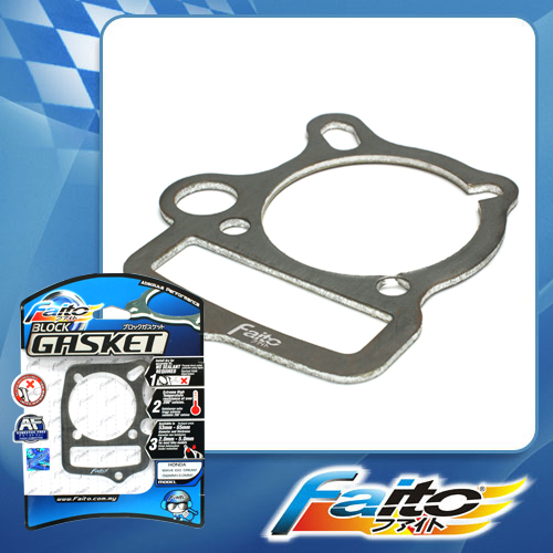 RACING BLOCK GASKET - EX5 (53MM) (3.0MM)