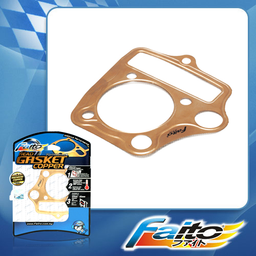 RACING BLOCK GASKET(COPPER)(0.2MM) - EX5 (53MM)
