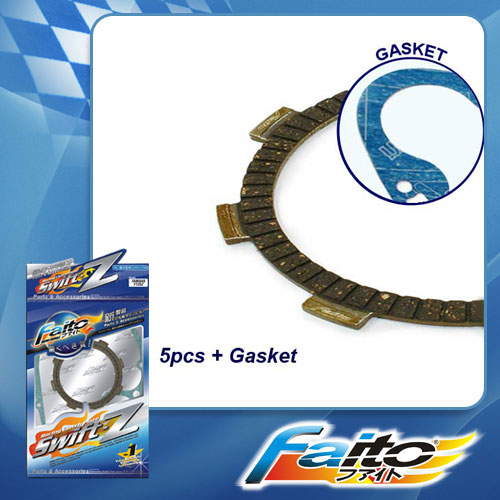 RACING CLUTCH PLATE  (SWIFT-Z) - Y100 (5pcs)