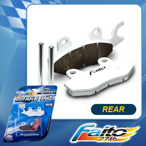 RACING DISC BRAKE PAD(STREET SPORT) - GT128(REAR)
