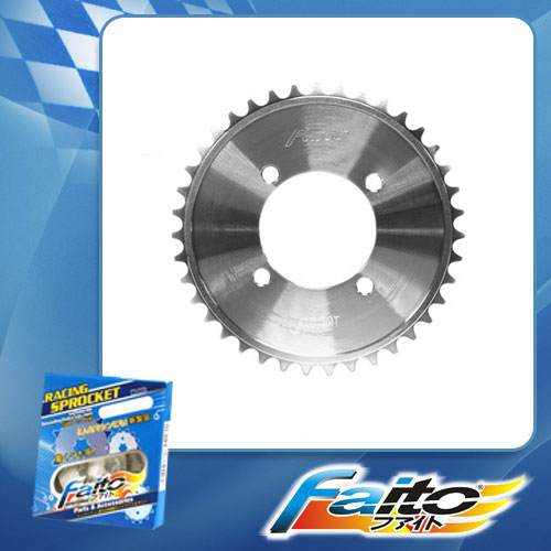 RACING REAR SPROCKET (CHROME) - CT110(415)
