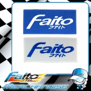 Faito Patch (Iron On) (Blue)