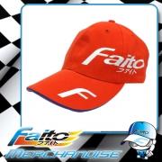 Faito Trendy Cap (Orangie Red)