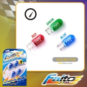 METER BULB (BLUE/RED/GREEN) - EX5(12V3.4W)