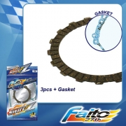 RACING CLUTCH PLATE  (SWIFT-Z) - WAVE125 (4pcs)