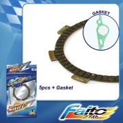 RACING CLUTCH PLATE  (SWIFT-Z) - LAGENDA (SRL110) (5pcs)