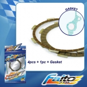 RACING CLUTCH PLATE  (SWIFT-Z) - Y125Z (5pcs)