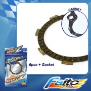 RACING CLUTCH PLATE  (SWIFT-Z) - RXZ (6pcs)