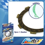 RACING CLUTCH PLATE  (SWIFT-Z) - KSR 110 (5pcs)