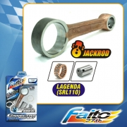 RACING CONNECTING ROD SET (JACKROD) - LAGENDA(SRL110)