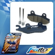 RACING DISC BRAKE PAD(GOLD EDITION) - SHOGUN 125(NEW)(FRONT)