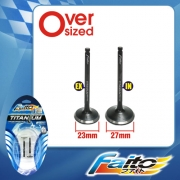 RACING ENGINE VALVE SET (TITANIUM) - EX5(23mm+27mm)