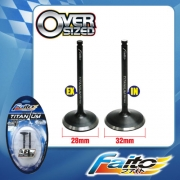 RACING ENGINE VALVE SET (TITANIUM) - EX5(28mm+32mm)