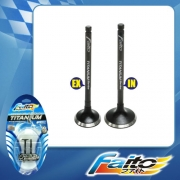 RACING ENGINE VALVE SET (TITANIUM) - WAVE110-RS
