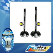 RACING ENGINE VALVE SET (TITANIUM) - SONIC