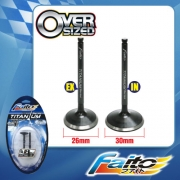 RACING ENGINE VALVE SET (TITANIUM) - EGO/NOUVO(26mm+30mm)