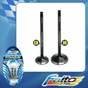 RACING ENGINE VALVE SET (TITANIUM) - NUOVO LC