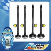 RACING ENGINE VALVE SET (TITANIUM) - LC135