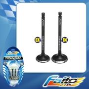 RACING ENGINE VALVE SET (TITANIUM) - KSR110