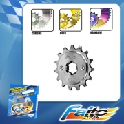 RACING FRONT SPROCKET (CHROME)  - WAVE125(415)