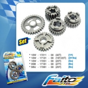 RACING GEAR SET - Y125Z  (CUB PRIX)