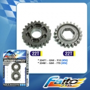 RACING GEAR - WAVE100 (22T + 22T) (4th)