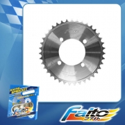 RACING REAR SPROCKET (CHROME) - KRISS(415)