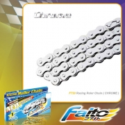 RACING ROLLER CHAIN (CHROME)